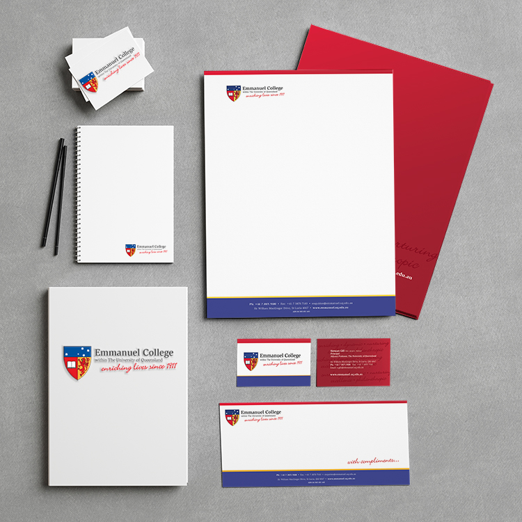 Emmanuel College Stationery