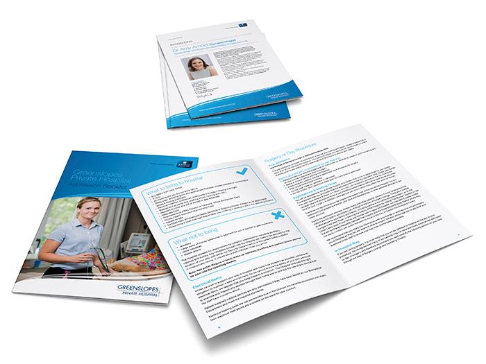 Greenslopes Private Hospital - Booklets